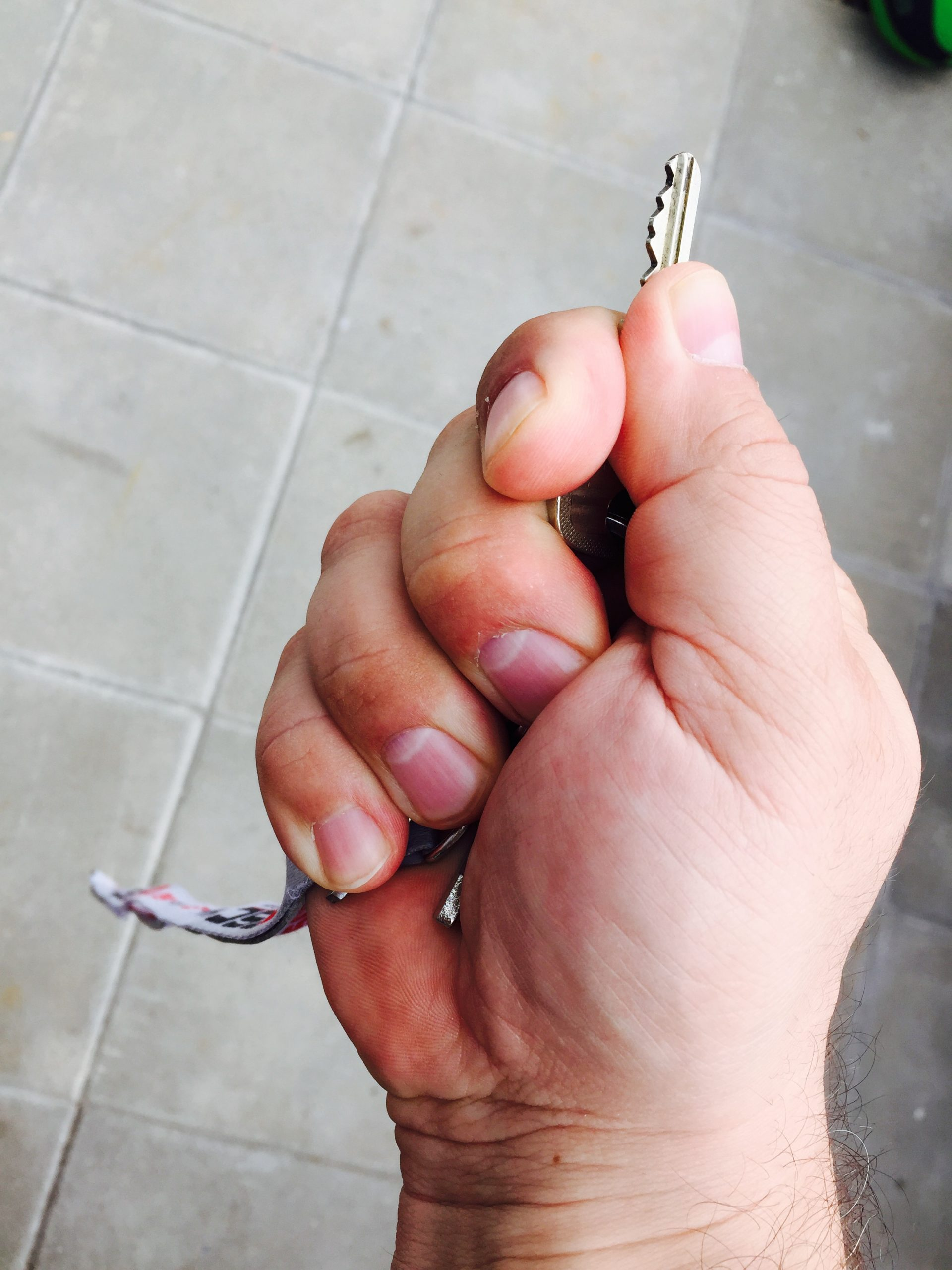 self-defense with a key