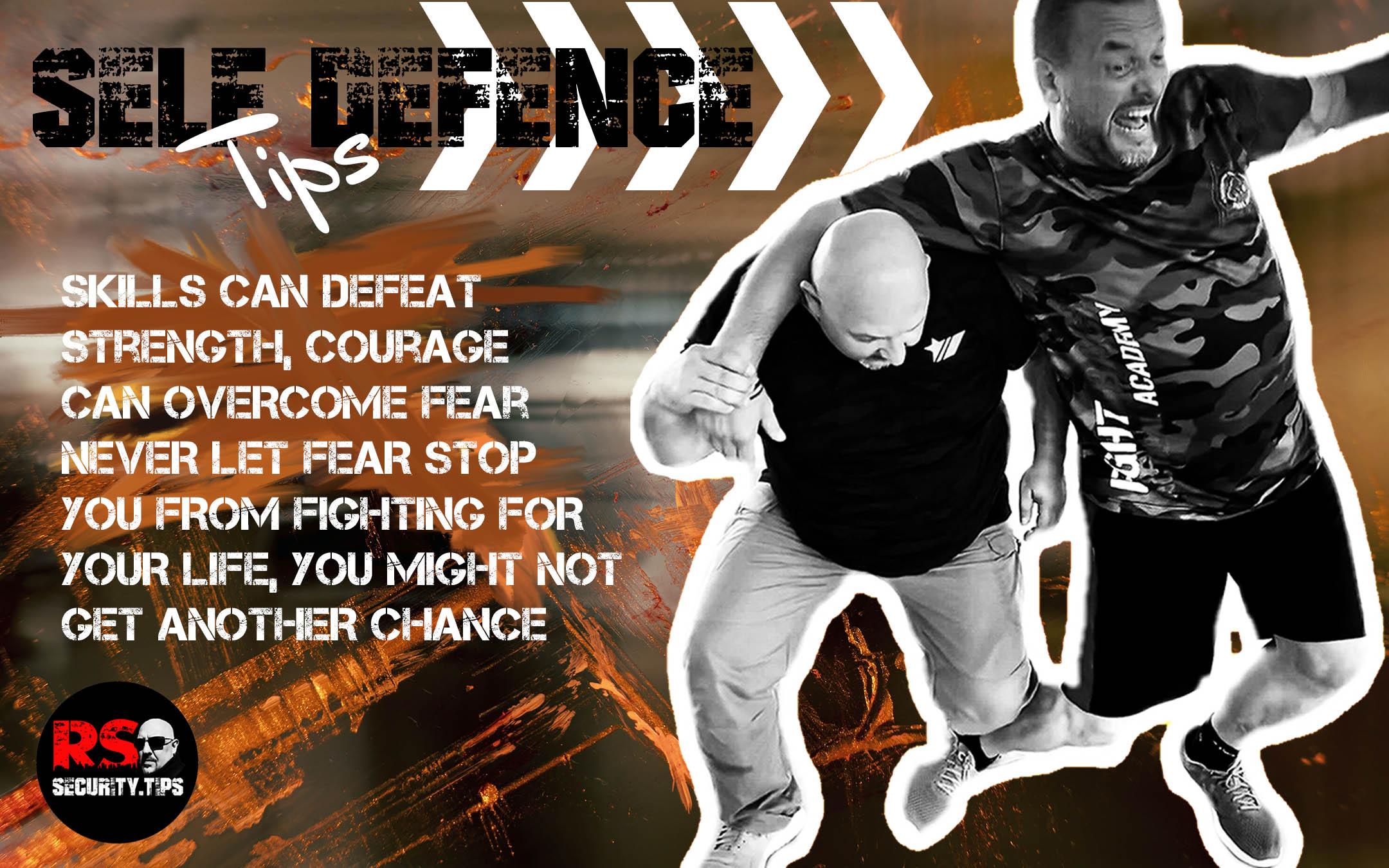 Self-defence tips 3